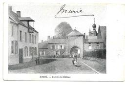 Havré   *  Entrée Du Chateau - Mons