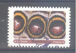France Autoadhésif Oblitéré (Effets Papillons 12 - Morpho Peleides) (cachet Rond) - Francia