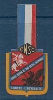 Comité National De Solidarité Des Cheminots -  Insigne En Carton - Insignes & Rubans
