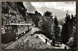 Lötschbergbahn Im Kandertal/Photo Gyger Adelboden/ Bitte Rückseite Beachten - BE Berne