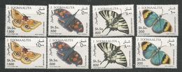 2x SOMALIA - MNH - Animals - Insects - Butterflies - Farfalle