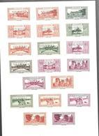 KB1458 - VIGNETTE VAUGIRARD DIVERSES SURCHARGHES - INDOCHINE - SAIGON - ANGKOR - ANNAM - CAMBODGE - LAOS - TONKIN - - Indochina (1889-1945)