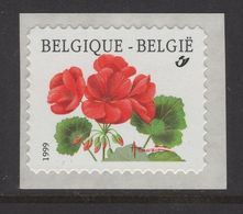 R90a (2854) Géranium - Textes Au Verso En 1999 - Coil Stamps