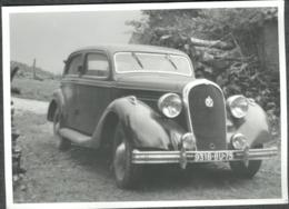 Photo  Vintage Automobile Hotchkiss Oldtimer Tirage Années 70 - Automobiles