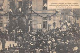 55-SAMPIGNY-FETES EN L HONNEUR DE MR ET MME POINCARE-N°2045-D/0229 - Autres Communes