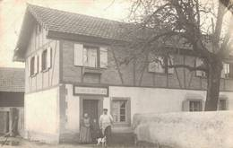 Foto Ak Heiteren Metzgerei Meyer, Haut-Rhin, Arrondissement Colmar-Ribeauvillé 1911 - Colmar