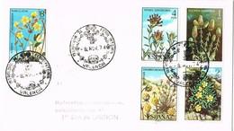 35929. Carta VALENCIA 1974. Feria Internacional Iberflora. FLORA - 1931-Hoy: 2ª República - ... Juan Carlos I