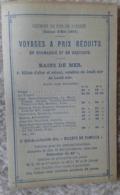 NORMANDIE ET BRETAGNE CHEMINS DE FER 1891 - Autres