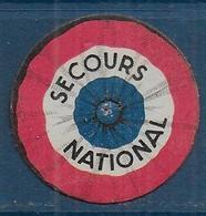 Secours National -   Insigne En Carton - Insignes & Rubans
