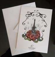 Olfattorio Bar PARFUMS Carte With Enveloppe - Perfume Cards