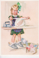 Jeune Fille Au Repassage ! - Humorous Cards