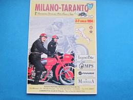 MOTO GUZZI E GILERA, MILANO TARANTO 8^ RIEVOCAZIONE STORICA NV - Motos