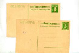 Carte  Postale 5 Tell - Interi Postali