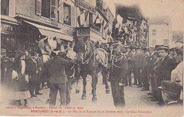 MONTLHERY : La Fete De La Tomate Le 18 Octobre 1908 . Le Char Triomphal . - Montlhery