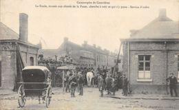 62-COURRIERES-LA CATASTROPHE-FOULE ABORDS DE LA FOSSE-N°2046-B/0381 - Otros Municipios