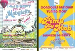 Flyer - Fête D'la Mobylette - 14 & 15 Sept 2019 à Graulhet [81] - Advertising