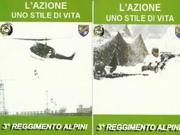 """Militari - Patriottiche - Alpini - 3° Reggimento Alpini """" Altius Tendo """"- - Patriottiche"""