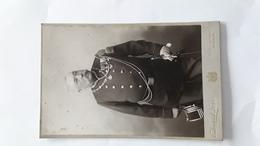 AFMETINGEN 16 CM OP 11 CM FOTO  EDOUARD JOSZ MONS SOUVENIR MAJOR AAN COLONEL - Guerra, Militares