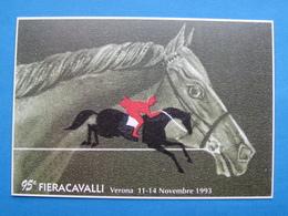 95^ FIERA CAVALLI VERONA 1993 NV - Manifestazioni