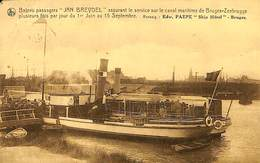 CPA - Belgique - Zeebrugge - Bateau Passagers Jan Breydel - Zeebrugge