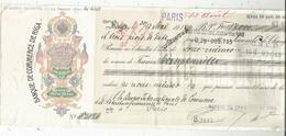 JC , Lettre De Change , Seconde De Change , 1914 , LETTONIE ,RIGA ,banque De Commerce De Riga , 4 Scans, Frais Fr 1.75 E - Wechsel