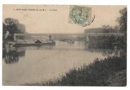 MISY SUR YONNE - Le Pont (avec Péniches) - Francia