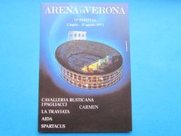 ARENA DI VERONA 71° FESTIVAL 1993 NV - Publicité