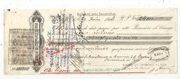 JC , Lettre De Change , Seconde De Change , 1914 , LETTONIE ,RIGA ,banque De Commerce De Riga , 4 Scans, Frais Fr 1.55 E - Wechsel