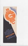 Bladwijzer / Signet / Bookmark - A.M.G.E.C. - Manufacture De Glaces - Bruxelles - Marque-Pages