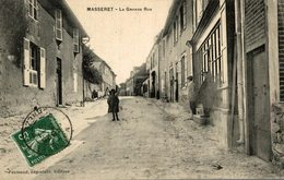 MASSERET LA GRANDE RUE - Autres Communes
