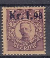 +Sweden 1917. Michel 107 (ex.1). MNH(**) - Neufs