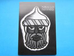 NIBALLO, PALIO DI FAENZA ED. STRAORD. MONDIALI ITALIA 90 NUMERATA TIRATURA 1000 NV - Demonstrations