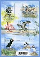 N°YT 4656 à 4659 - Protection Des Oiseaux - 2012 - Usati