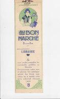 Bladwijzer / Signet / Bookmark - Au Bon Marché - Bruxelles - Marque-Pages