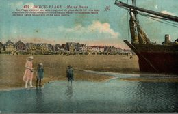 BERCK PLAGE MAREE BASSE - Berck
