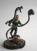 FIGURINE HEROCLIX MARVEL  DOCTOR OCTOPUS DOCTEUR Jaune Rareté 2 Socle JAUNE - Marvel Heroes