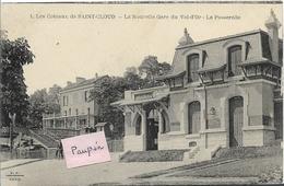 Coteaux De St Cloud - La Nouvelle Gare Du VAL D'OR - La Passerelle - Saint Cloud
