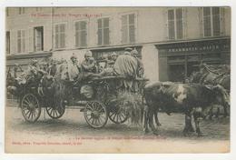 88 - St-Dié - Le Dernier Convoi De Bléssés Allemand Quittant St-Dié - Saint Die