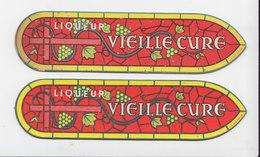 2 X Bladwijzer / Signet / Bookmark - Liqueur Vieille Cure - Marque-Pages