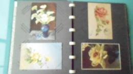 THLOT DE 16 CARTES  DE FLEURS N° DE CASIER 492CIRCULE - Fleurs