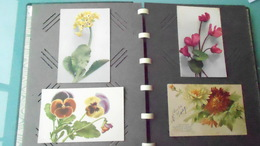 THLOT DE 16 CARTES  DE FLEURS N° DE CASIER 493CIRCULE - Fleurs