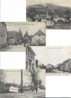 TERRITOIRE De BELFORT - Lot De 12 Cartes De Villages - France