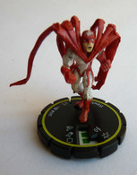 FIGURINE HEROCLIX DC HAWK Jaune Rareté 2 Socle JAUNE - Marvel Heroes