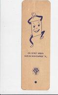 """Bladwijzer / Signet / Bookmark - Le Bon Papier """"5"""" - Marque-Pages"""