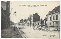 CPA 80 Bombardement D' AMIENS - La Rue Jules Barin - Amiens