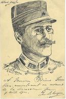 Alfred Dreyfus - CPA Faite Main - Encre De Chine - Signée Georges Leborgne Pièce Unique - 1900 - Illustrateurs & Photographes