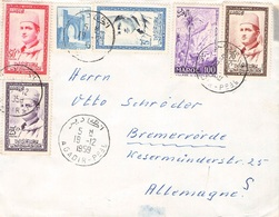 MOROCCO - BRIEF 1959 AGADIR -> BREMERVÖRDE //ak232 - Marocco (1956-...)