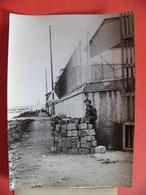 Photo De Presse 1958 MARSEILLE Une Sentinelle Garde Les Installations Portuaires Suites Aux Attentats Des Nord Africains - Orte