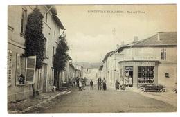 55 MEUSE LONGEVILLE EN BARROIS Rue De L'Orme - Francia