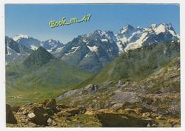 {82396} 05 Hautes Alpes Les Grands Cols , Panorama Vu Du Col Du Galibier , à Gauche Les Ecrins Et Col Du Lautaret - France